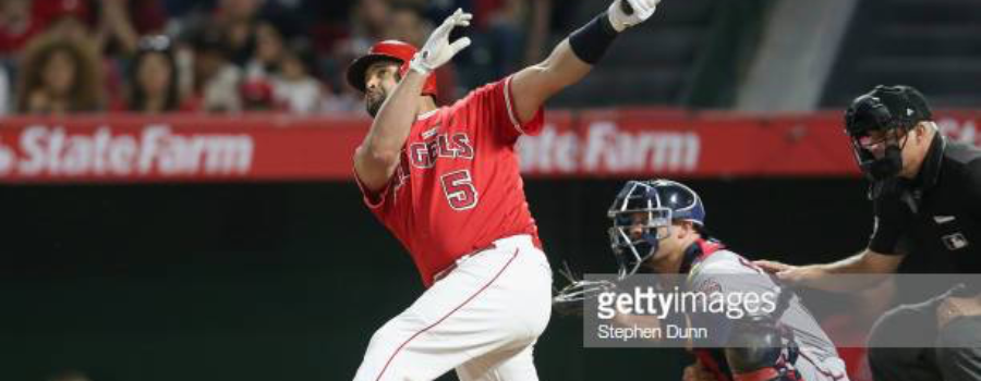 Albert Pujols Lets Go of Control and Loses his Slump!